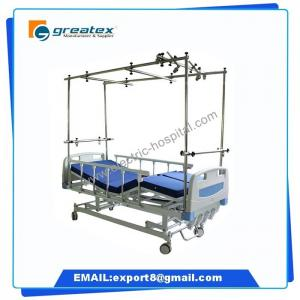 China New Style Easy Cleaning Four Crank Manual Orthopedics Bed supplier