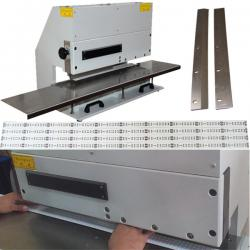 China pcb depaneling machine for led aluminium substrate with two sharp linear blades on sale