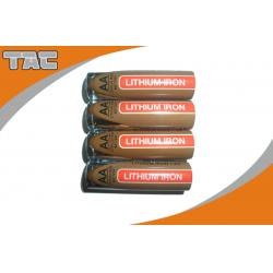 China LiFeS2 AAA 1100mAh Lithium Iron Battery , 1.5V on sale