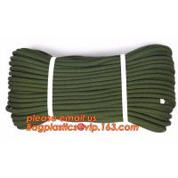 Soft emergency escape rope thin polyester rope, safety rope, climbing rope, protective escape rope, braided polyester