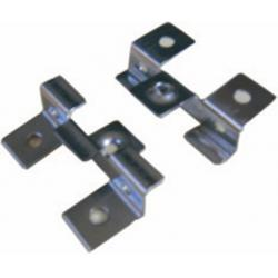 China 50x35mm WPC Accessories , SS Fixing Clip For Composite Decking on sale