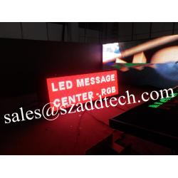 China LED Message Center , for USA and  Canada advertising market use on sale