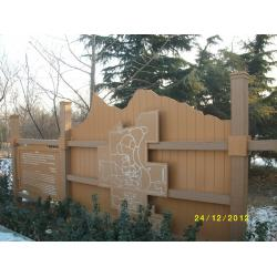 China WPC Construction Garden Welcome Signs with Wood Plastic Composite on sale