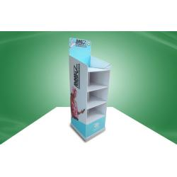 china eco friendly modern cardboard free standing display units customized with four shelves on sale china eco friendly modern office