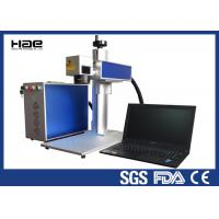 High Precision Handy Fiber Laser Marking Machine 10w - 50w With Rotary Axis 3D