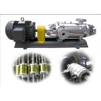 Variable Speed Horizontal Multistage Centrifugal Pump , Low Pressure Water Pump