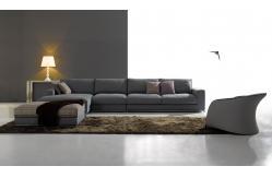 Sof cama moderno roxo da tela para a mob lia home sof s for Mobilia home catalogo