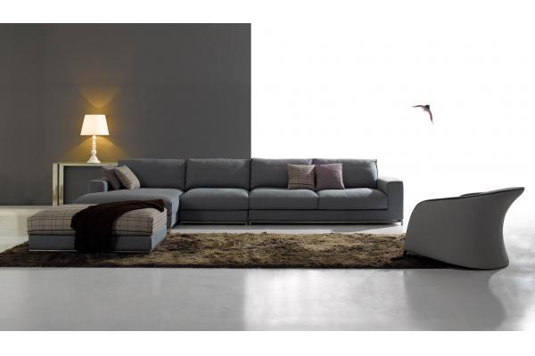 sof cama moderno prpura de la tela para los muebles caseros sofs de la tela de minotti