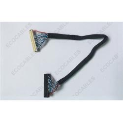China Twisted LVDS Cables With Acetate Tape For Signal & LCD ROHS Compliant on sale