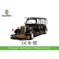 FRP Body 7.5KW Low Speed Electric Classic Vehicle 11 Seater Golf Cart For Sightseeing