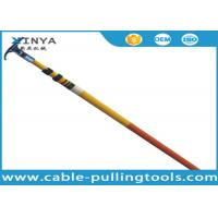 Easy Maintenance Fiberglass Telescopic High Voltage Hot Stick With Length 3 - 12 Meters