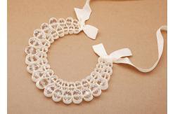 perlas de cristal con color beige cinta joyería artesanal collares (NL,489)