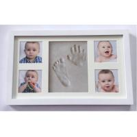 Non toxic Baby Clay Frame Baby Memory Keepsake Imprints Shower For Boys Gifts
