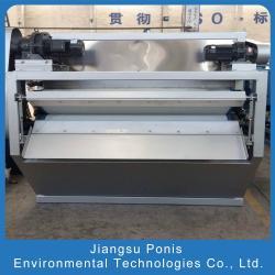 China PONIS sludge dewatering belt filter press 500/1000/1500/2000/2500 on sale