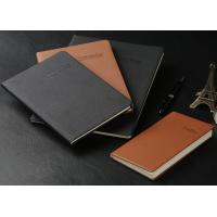 A5/A4 Soft cover PU leather Notebook (red, black, blue...) with super quality