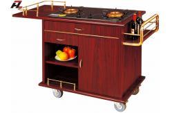 Isla m vil del carro de la cocina con el carro de la caj n for Cocina 88 el cajon