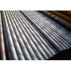 China A53 - A369 SSAW Round Spiral Welded Steel Pipes For Fluid / Oil Transport on sale