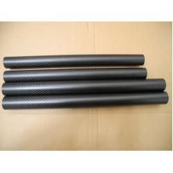 China High strength carbon fiber pipe support bar mechanical parts not rust corrosion on sale