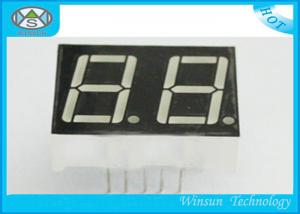 20.1 X 16 X 7.0mm 2 Digit 7 Segment Display Led Numeric Display 0.4 Inch For Elevator