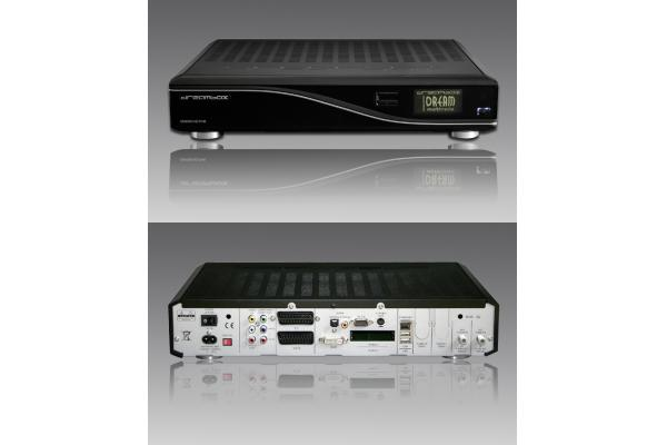 Plug And Play 12V Dreambox 8000 HD Satellite Receiver With Internet ...