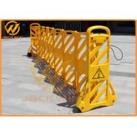 Temporary Road Safety Plastic Traffic Barriers / Expandable Barricade