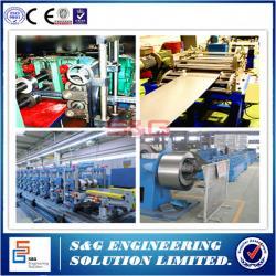 China 3.0kw Servo Feeding Power Steel Stud Roll Forming Machine Metal Forming Machinery 9 Stations on sale
