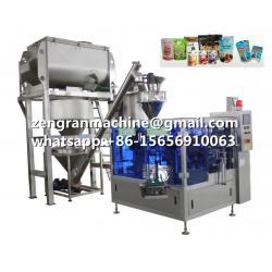 China Packing Machine for Filling Premade Bags for for Powder, Granule, Liquid 200g 250g 300g 500g 1kg 2kg 2.5 Kg 3kg 5kg on sale