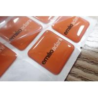 Custom Epoxy Resin Clear Crystal Dome Sticker / 3D Printing Epoxy Resin Label