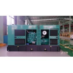 China 400kw/500kVA  Cummins silent Diesel Generator Set /Gensets with soundproof canopy enclosure  (KTA19-G3A) GDC500*S on sale