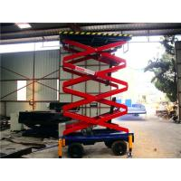 6 meters hydraulic lifting equipment with motorized device , 500Kg loading