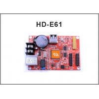 network controller HD-E61 RJ45 +USB port Single and Double Color LED Display Module Control Card