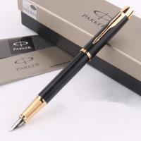 wholesale brand Fast Writing Parker Pen Golden Design Fountain Pen