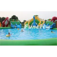 0.9MM Thickness Inflatable Amusement Park PVC Tarpaulin Giant for Sports Games