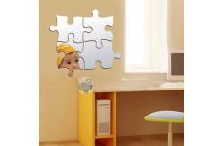 Autocollant acrylique incassable de miroir de mur non for Miroir acrylique incassable