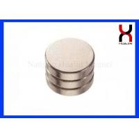 N52 Grade NdFeB Permanent Round Magnets Customized Big Size Disc Magnets