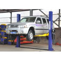 3PH Floor Plate Two Post Hydraulic Auto Lift , 220V 4t Car Lift
