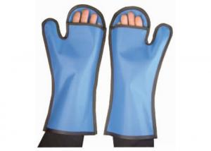 Medical X Ray Machine Veterinary Lead Gloves Shielding the X Rays