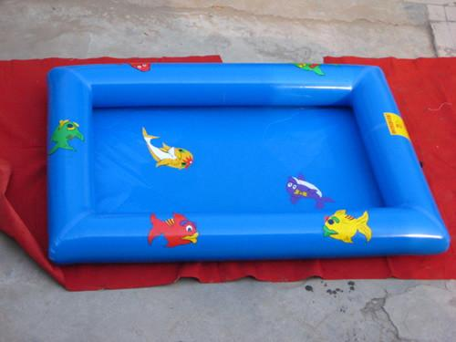 Mobile Indoor Square Shaped Kids Inflatable Pool For Home