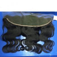 100% Virgin Human Hair Frontal Lace Closure with Baby Hair 13x4 Peruvian Virgin Hair Closure