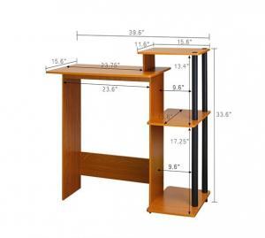 Modern Wood Computer Desk