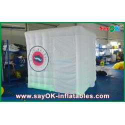 China Wedding Blow Up Photo Booth , Portable Square Inflatable Picture Booth on sale