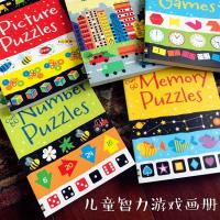 Full Color Soft Cover Children's Books Printing Game Puzzle A4 School Spot UV Coating