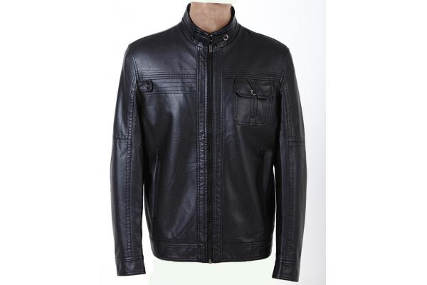 Viscose, Zipper Mens Lightweight Leather Jackets - mensleathersuits