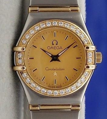 Omega Constellation Diamond Bezel