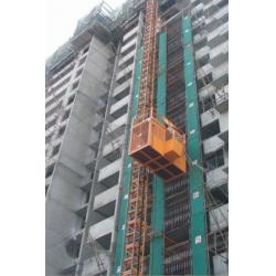 China Material Lift Construction Hoist Elevator with Schneider , LG Electric Parts on sale