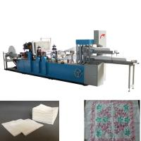 Double Decks Two Color Printing Napkin Paper Making Machine