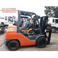 4520 Kg Used Diesel Forklift Truck , Japan Toyota 3 Ton Diesel Forklift