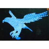 Outdoor lighted eagle