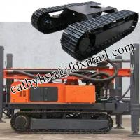 custom built drilling rig steel track undercarriage steel cralwer undercarriage from china factory