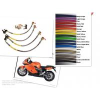Motorcycle Racing Colored TEFLON/PTFE Steel Braided Brake Line Hose Kits